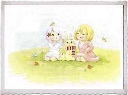 可愛いウサギちゃんもいます
